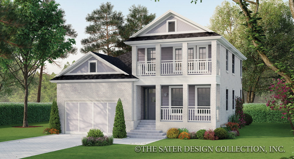 Azalea Home Plan front elevation rendering