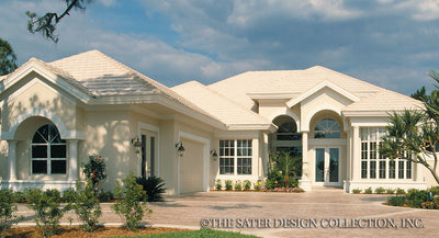 Turnberry Lane-Front Elevation-Plan #6602