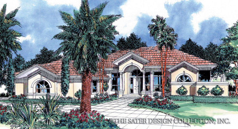 Doral Court-Front Elevation Rendering-#6606