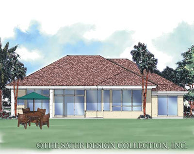 Doral Court-Rear Elevation Rendering-#6606