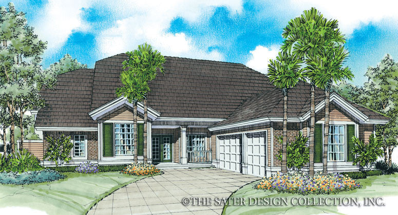 Kingsmill Lane-Front Elev Render Image-Plan#6607