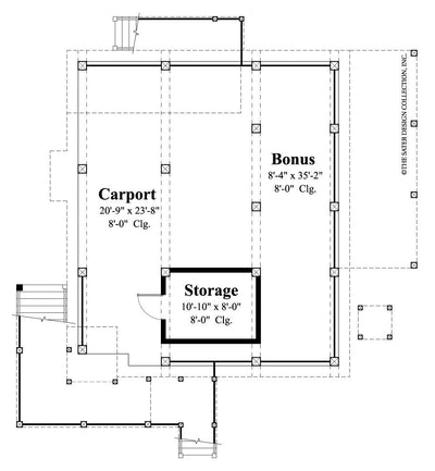 Runaway Bay-Lower Level Floor Plan #6616