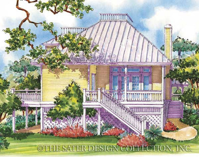 Runaway Bay-Rear Elevation Render Image-Plan #6616