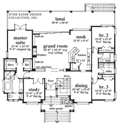 Plan #6622-Main Floor Plan-Admiralty Pointe