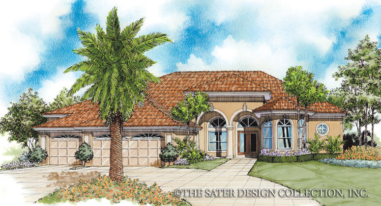 Gleneagles Way-Front Elevations-Plan #6628