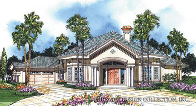 Royal Troon Lane-Front Elevation-Plan #6633