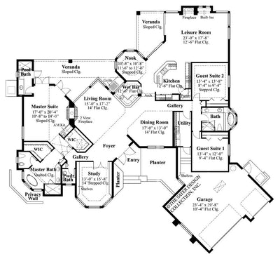 Innsbrook Place Main Level Floor Plan - #6634
