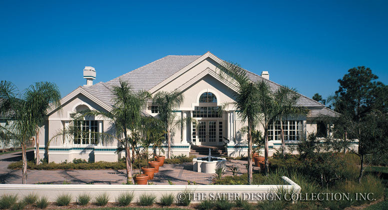 Grand Cypress Lane-Front Elevation-Plan #6636