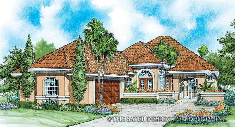 Dorado-Front Elevation- plan #6644
