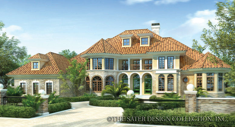 Hillcrest Ridge- Front Elevation Rendering -#6651