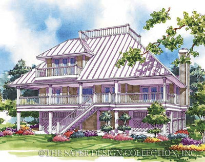 Abaco Bay-Rear Elevation Rendering-Plan#6655
