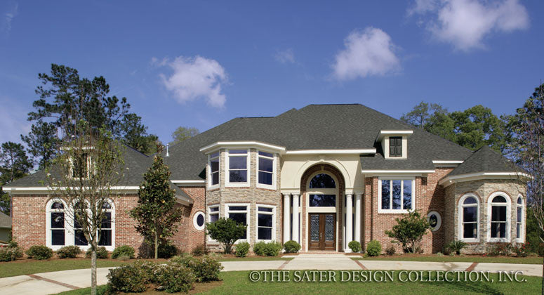 Stoney Creek Way-Front Elevation-Plan #6656