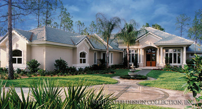 Biltmore Trace-Front Elevation-Plan #6657