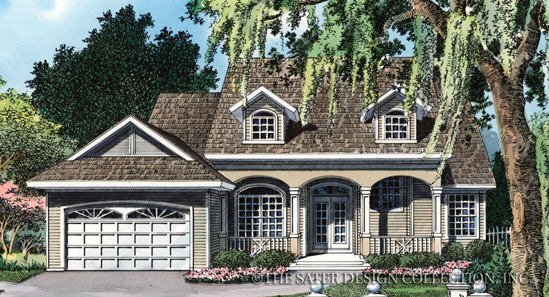 Canterbury Trail-Front Elevation Render Image-Plan #6662