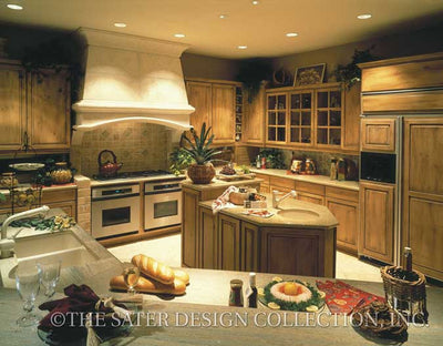 Monterrey Lane-Kitchen-Plan #6672
