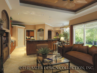 Governors Club Way-Living Room-Kitchen-Plan #6674