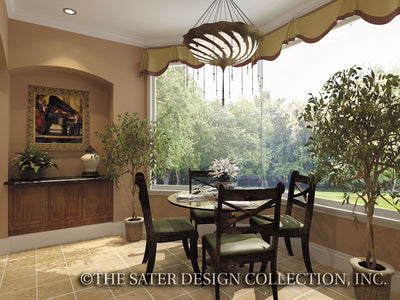 Governors Club Way-Breakfast Nook-Plan #6674