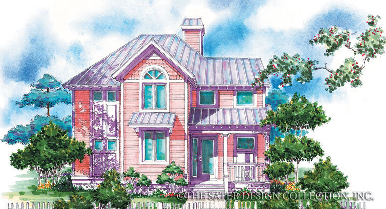 Periwinkle Way-Front Elevation Rendering-#6683