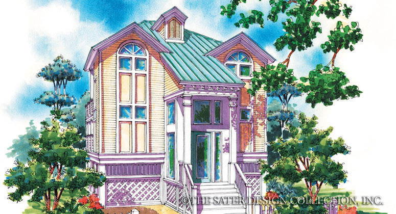 Church Street-Front Elevation-Plan #6687
