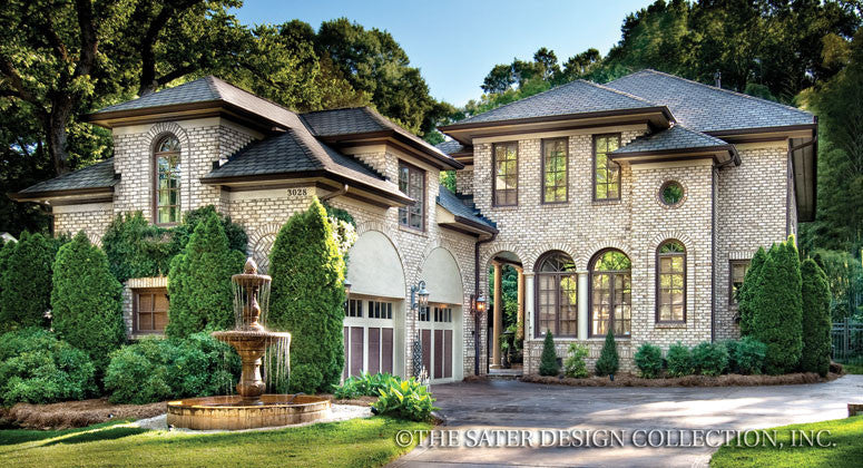 House Plan Wulfert Point Sater Design Collection