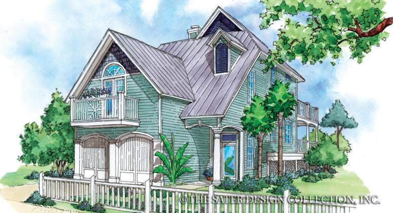 Home Plan Georgetown Cove Sater Design Collection