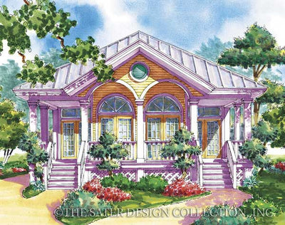Mallory Square-Rear Elevation-Plan #6691