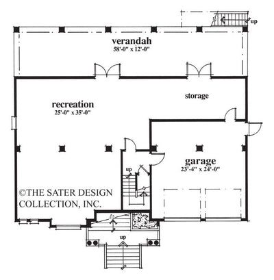 Tuckertown Way-Lower Level Floor Plan #6692