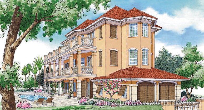 Charleston Place-Front Elevation-Plan #6700