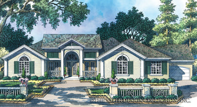 House Plan Village Greens Way Sater Design Collection