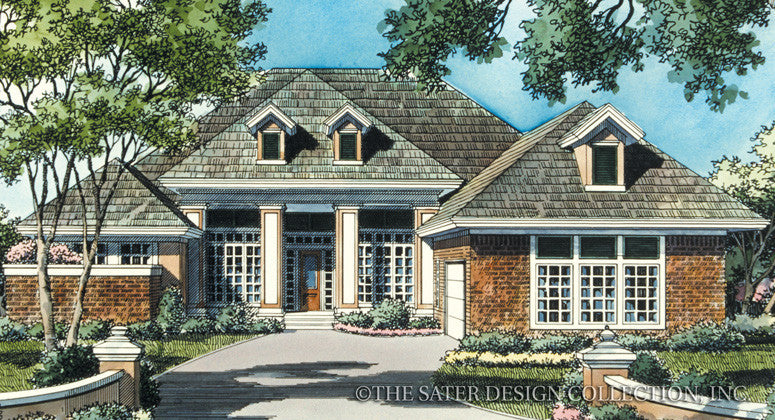 Cedar Brook Court-Front Elevation-Plan #6710