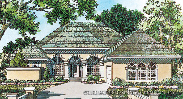 Landfall Trail-Front Elevation-Plan #6719