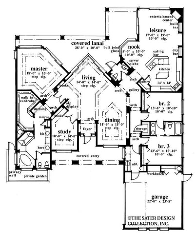 Landfall Trail-Main Level Floor Plan-#6719