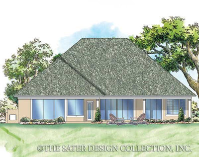 Landfall Trail-Rear Elevation-Plan #6719