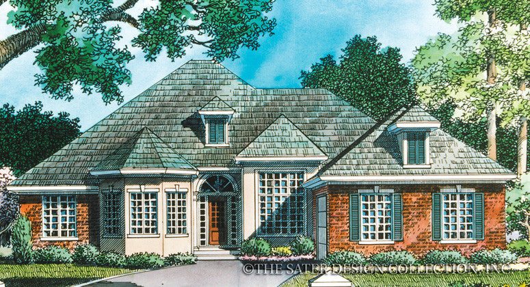 Oliver Landing Way-Front Elevation Render Image-Plan #6730