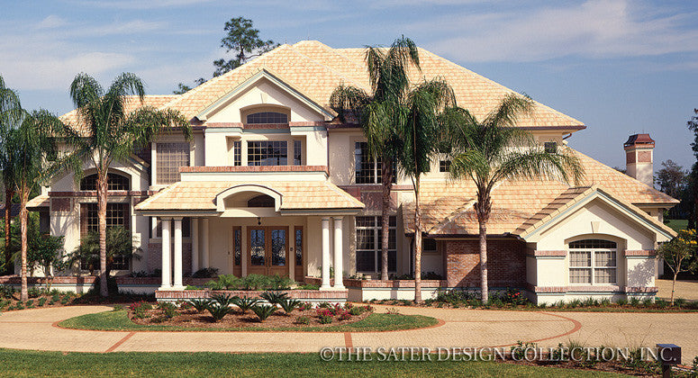 Olde Cypress Pointe-Front Elevation-Plan #6732