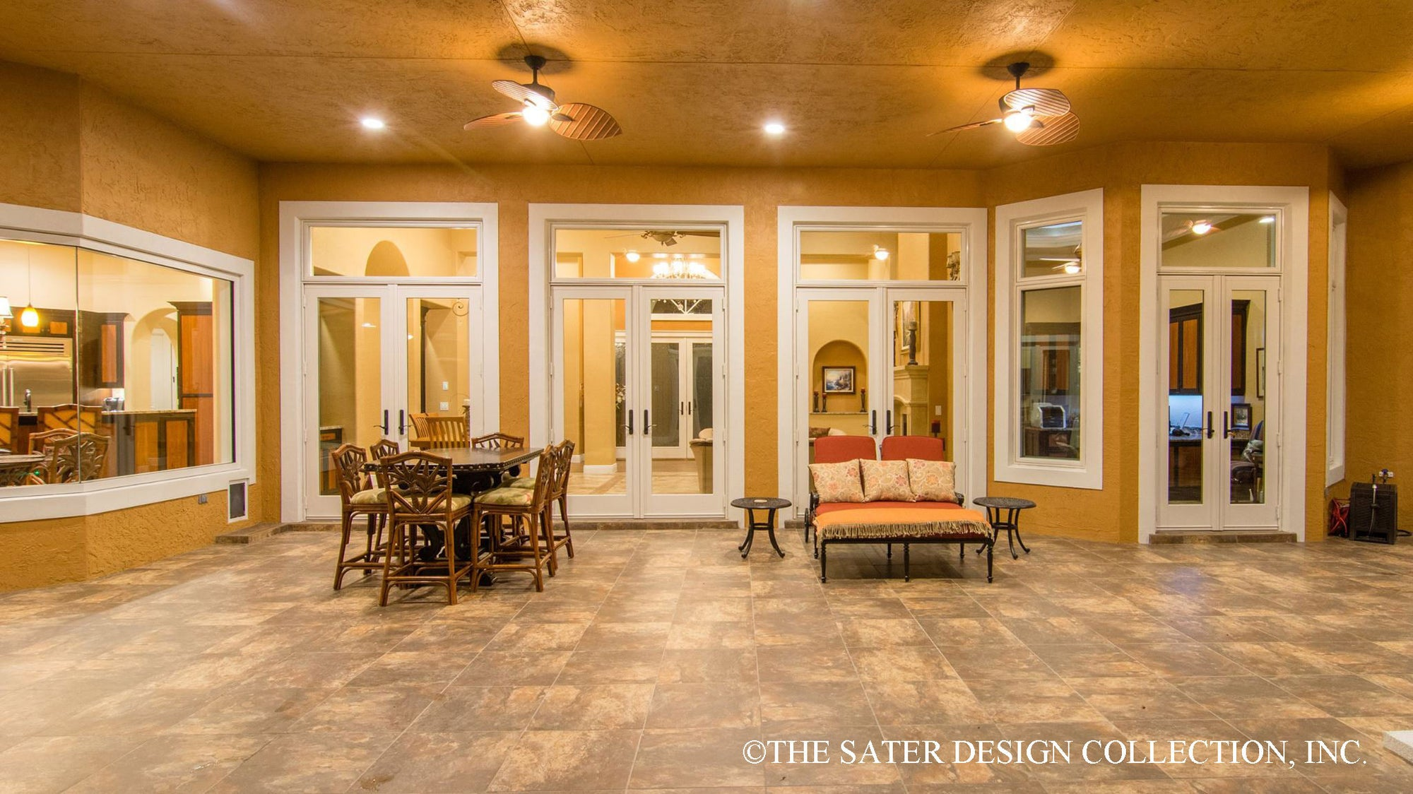 The Sater Design Collection house plan plantation pine road | sater design collection