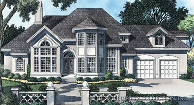 Whispering Pines Place-Front Elevation-#6736