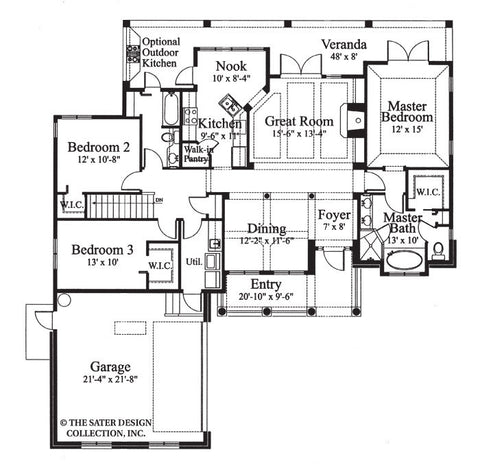 Sater Design Luxury House Plans. Sater. Home Plan And House Design ...