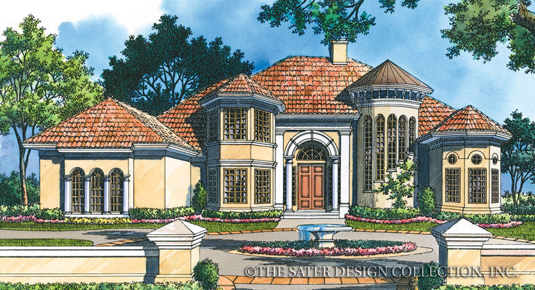 Fiddlers Creek-Front Elevation- Plan #6746