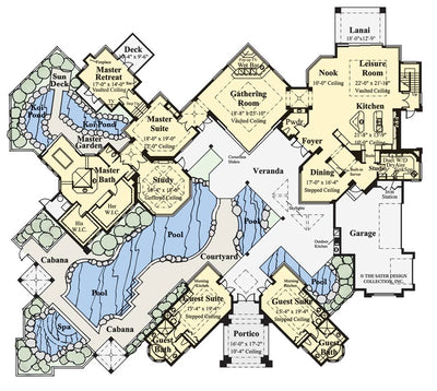 Windsor Court-Main Level Floor Plan