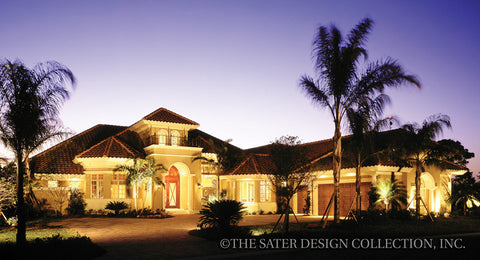 Home Plan Autumn Woods Sater Design Collection