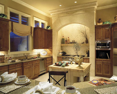 Autumn Woods-Kitchen-Plan #6753