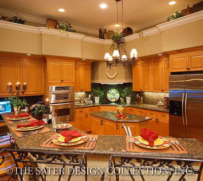 Kinsey- Kitchen View -Plan #6756