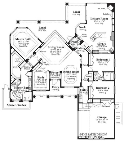 Kinsey Floor Plan - Plan#6756
