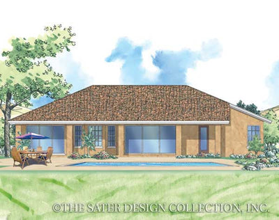 Terra Valley-Rear Elev Rendering-Plan #6761