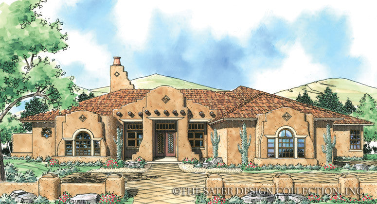 Shiloh-Front Elevation-Plan #6763