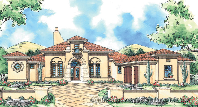 Sonora-Front Elevation-Plan #6764