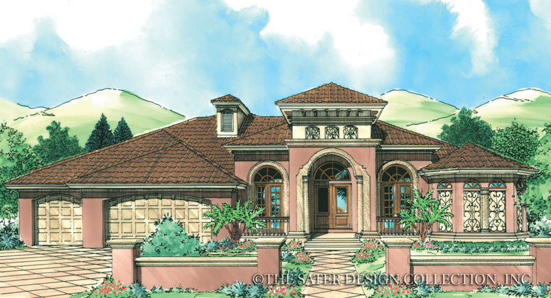 San Luis-Front Elevation Rendering-Plan#6767