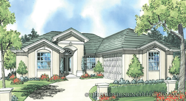 Kendric-Front Elevation-Plan #6772