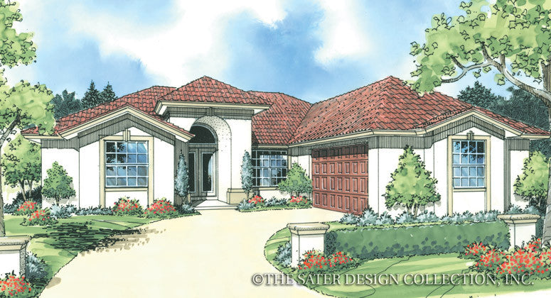 Laibrook-Front Elevation-Plan #6773